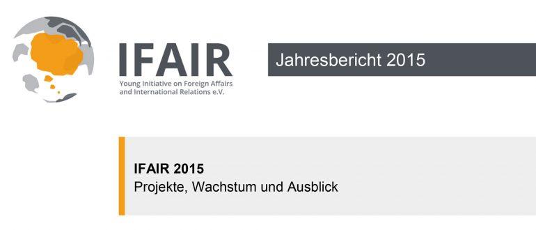 IFAIR Jahresbericht 2015